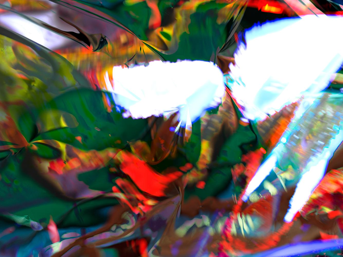 Elias Wessel  Hinter den Dingen 4 , 2017  Color Photograph  Original: 180 x 240.3 cm
