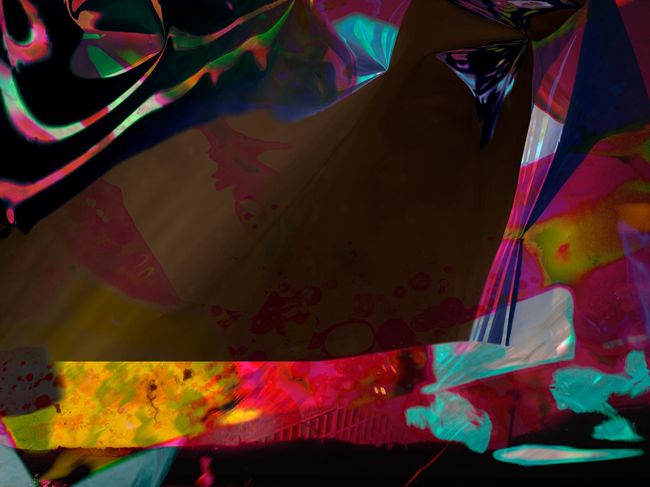 Elias Wessel  Hinter den Dingen 5 , 2017  Color Photograph  Original: 180 x 240.3 cm