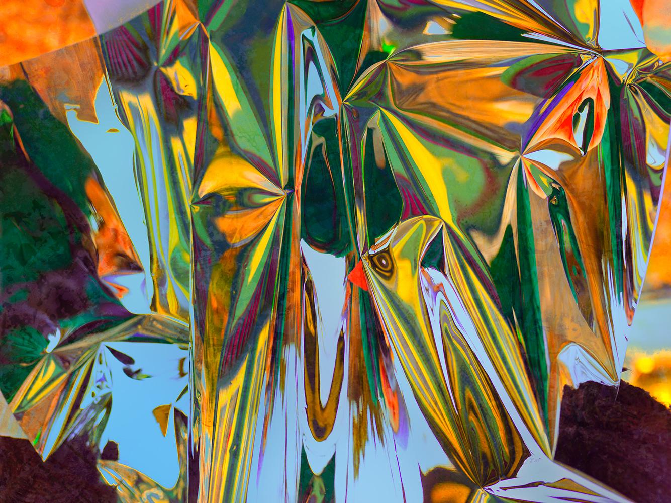 Elias Wessel  Hinter den Dingen 7 , 2017  Color Photograph  Original: 180 x 240.3 cm
