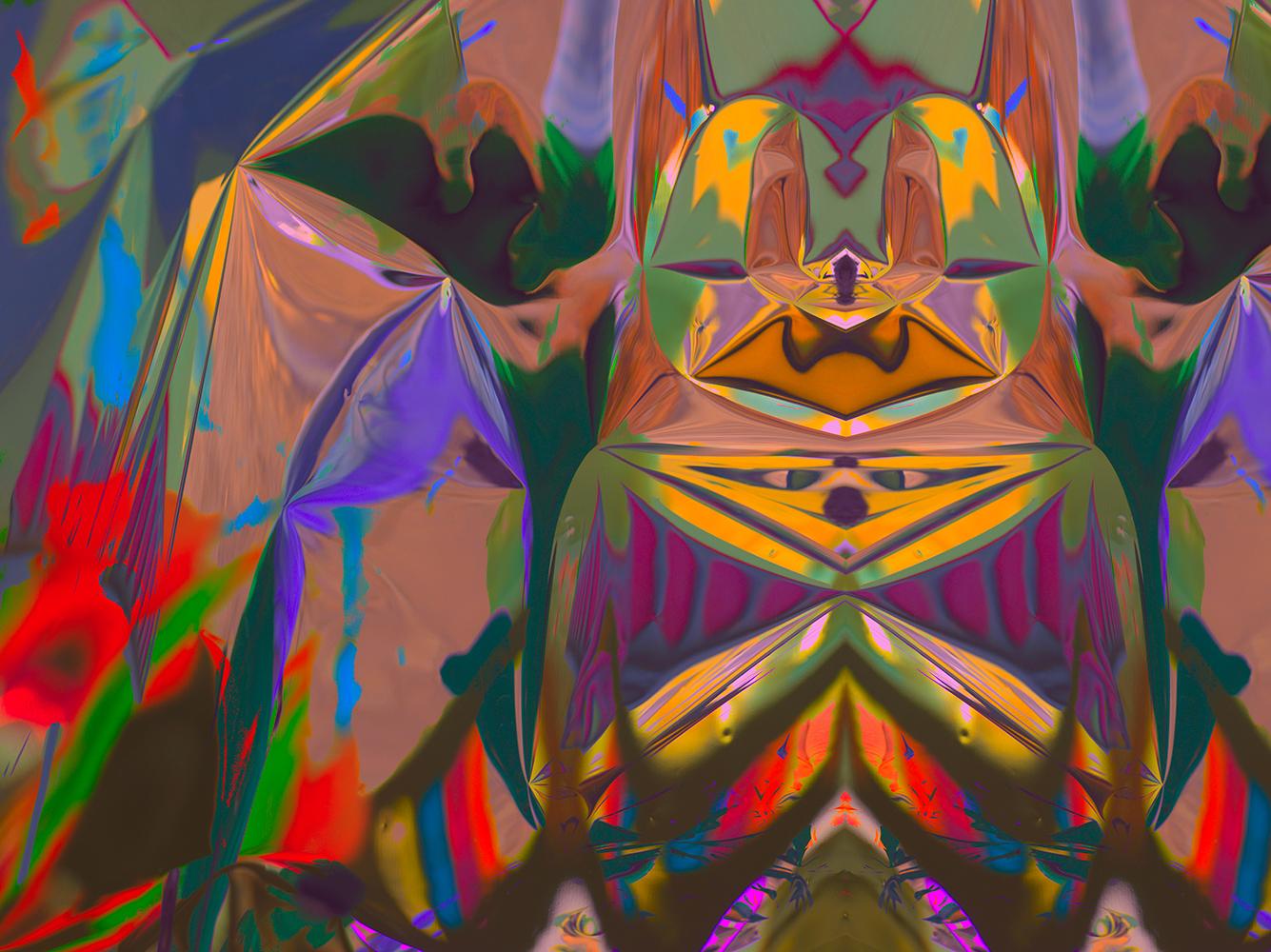 Elias Wessel  Hinter den Dingen 8 , 2017  Color Photograph  Original: 180 x 240.3 cm