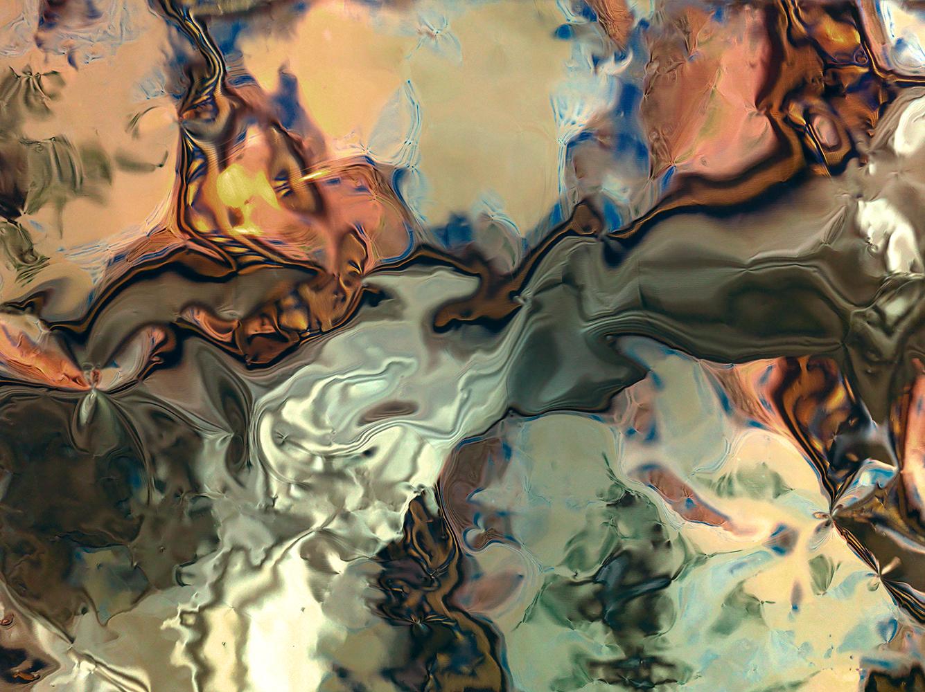 Elias Wessel  Hinter den Dingen 9 , 2017  Color Photograph  Original: 180 x 240.3 cm