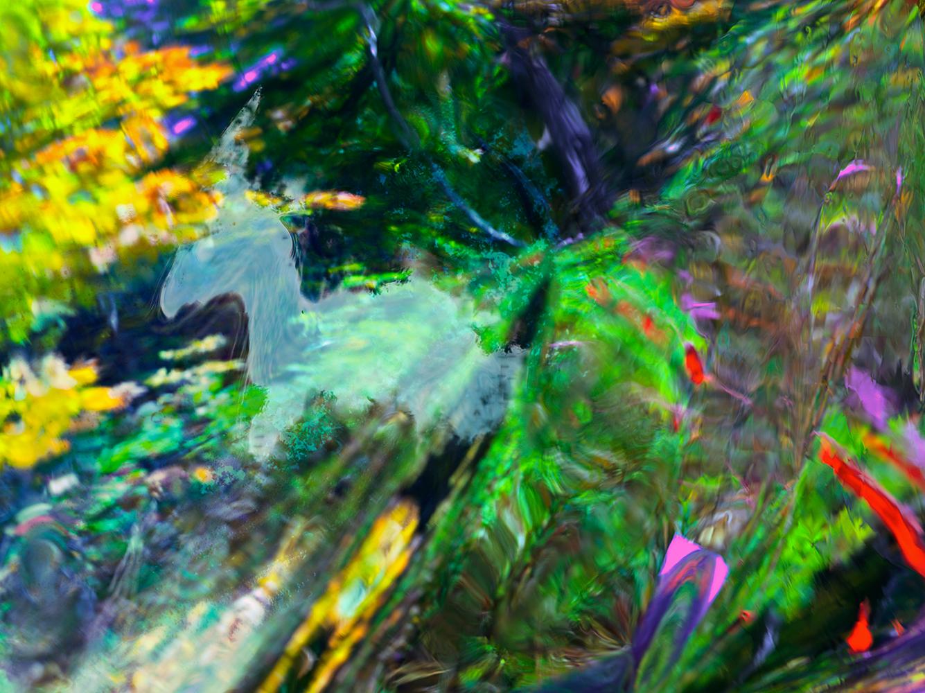 Elias Wessel  Hinter den Dingen 11 , 2017  Color Photograph  Original: 180 x 240.3 cm