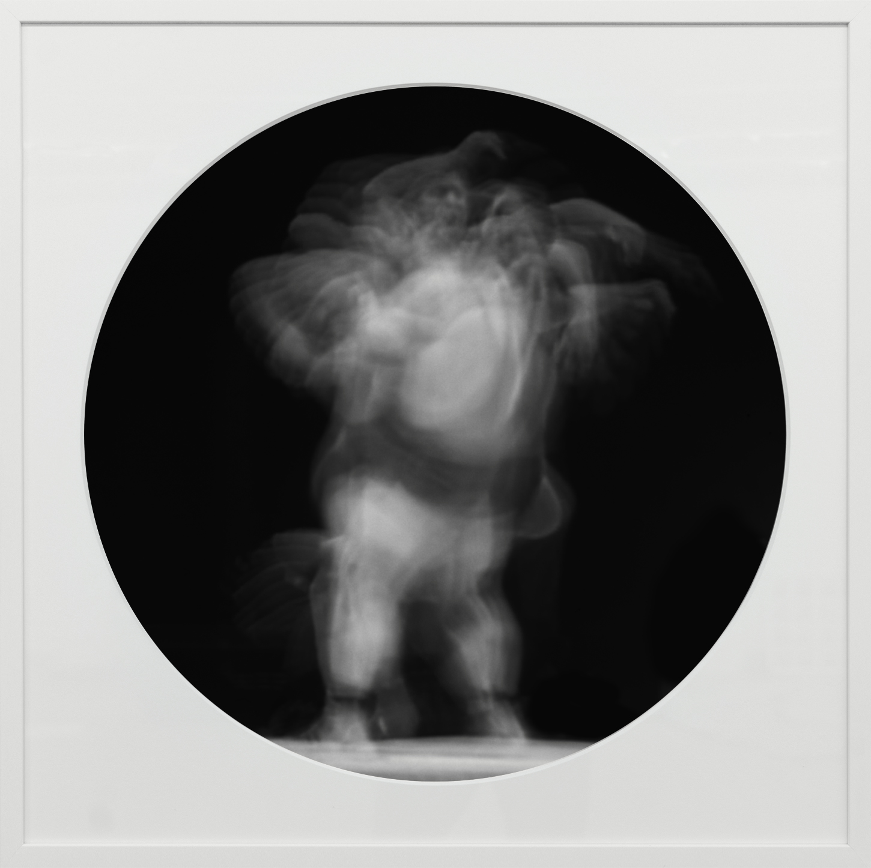 Elias Wessel   Ringbilder I , 2014-15  B/W Photograph 76.3 x 76.3 cm (framed)