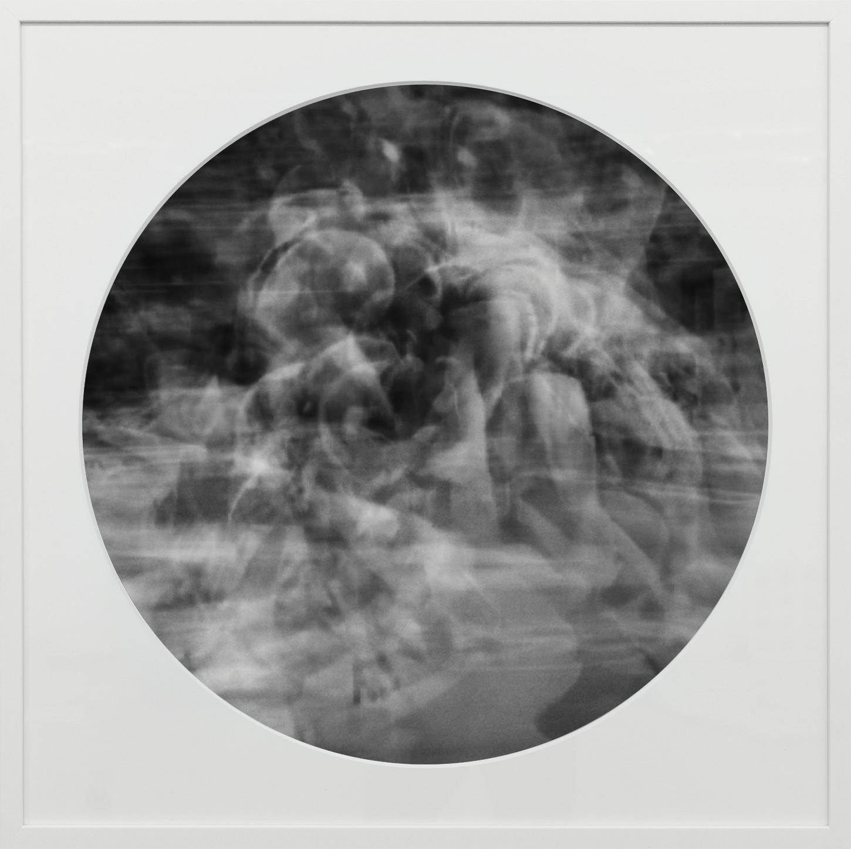 Elias Wessel   Ringbilder III , 2014-15  B/W Photograph 76.3 x 76.3 cm (framed)
