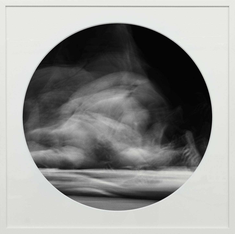 Elias Wessel   Ringbilder VI , 2014-15  B/W Photograph 76.3 x 76.3 cm (framed)