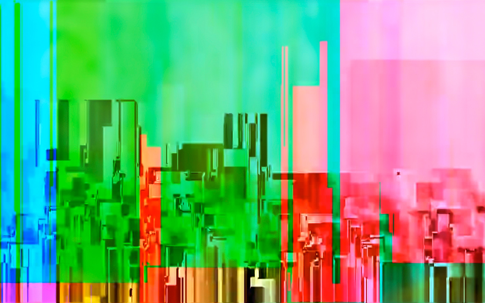 Elias Wessel   Cityscapes #3 , 2014-15  Color Photograph  152,4 x 243,8 cm
