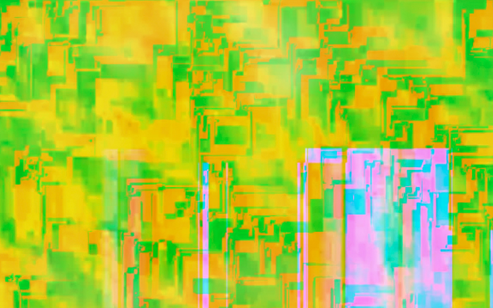 Elias Wessel   Cityscapes #5 , 2014-15  Color Photograph  152,4 x 243,8 cm