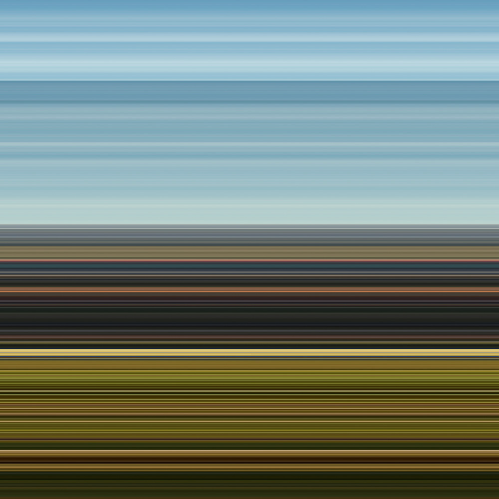 Elias Wessel   Landscapes V , 2014  Color Photograph  Original: 240 x 240 cm, Kursk Edition: 60 x 60 cm