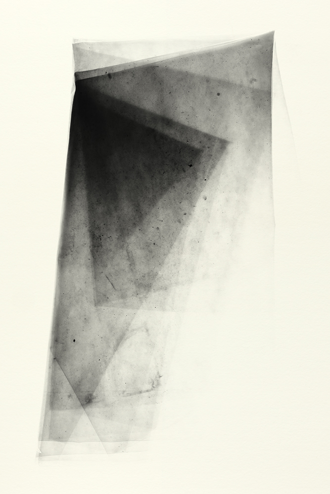 Elias Wessel   Sprung in die Zeit, No. 7 , 2014  B/W Photograph  Original: 152,4 x 101,6 cm