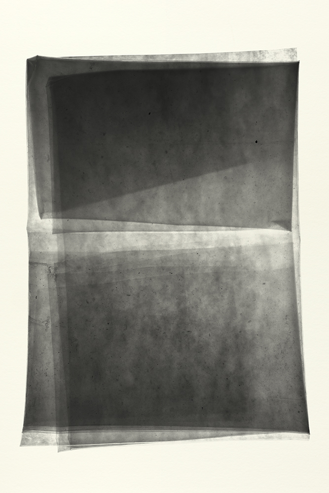 Elias Wessel   Sprung in die Zeit, No. 12 , 2014  B/W Photograph  Original: 152,4 x 101,6 cm