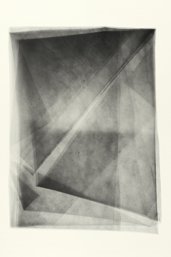 Elias Wessel   Sprung in die Zeit, No. 23 , 2014  B/W Photograph  Original: 152,4 x 101,6 cm