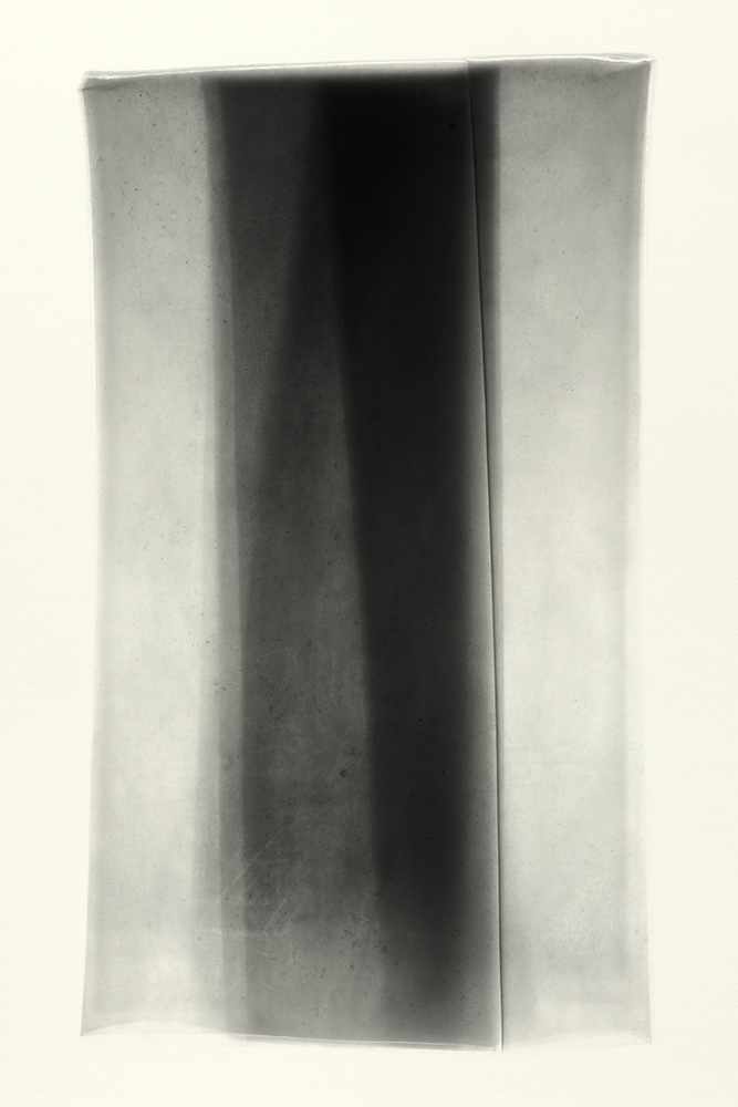 Elias Wessel   Sprung in die Zeit, No. 27 , 2014  B/W Photograph  Original: 152,4 x 101,6 cm