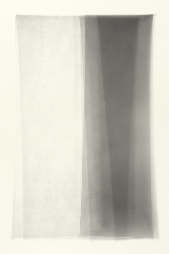 Elias Wessel   Sprung in die Zeit, No. 28 , 2014  B/W Photograph  Original: 152,4 x 101,6 cm