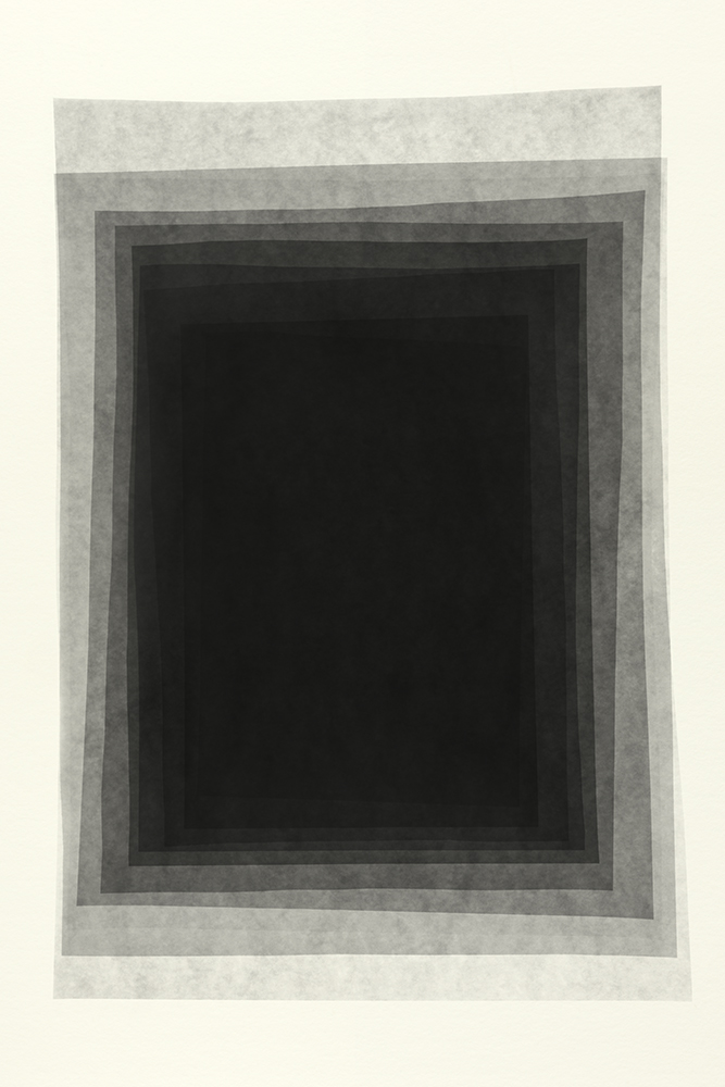 Elias Wessel   Sprung in die Zeit, No. 34 , 2014  B/W Photograph  Original: 152,4 x 101,6 cm