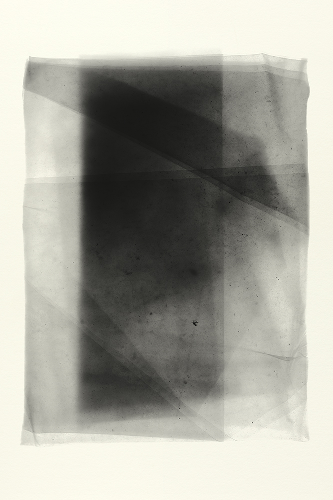 Elias Wessel   Sprung in die Zeit, No. 39 , 2014  B/W Photograph  Original: 152,4 x 101,6 cm