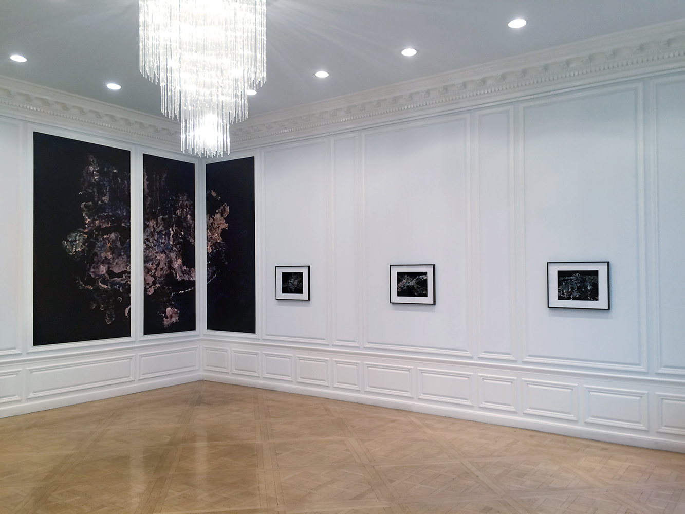 Installation View:  Goethe House – 1014 Fifth Avenue, New York  Stuck Together Pieces!,  2016-17 © Elias Wessel