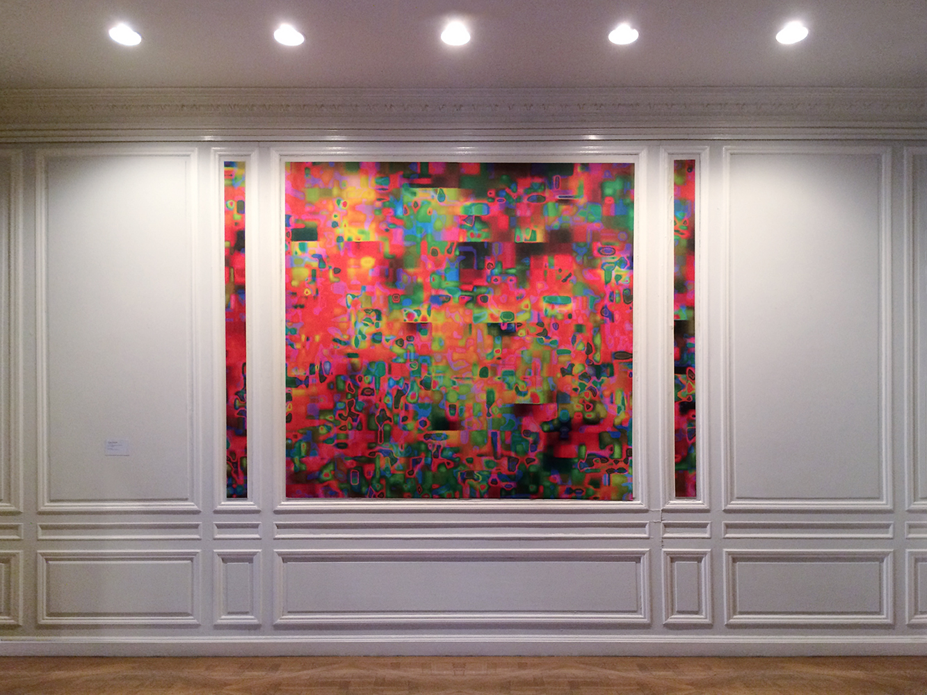 Installation View:  1014 (Goethe House), New York  Stuck Together Pieces!,  2016-17 © Elias Wessel