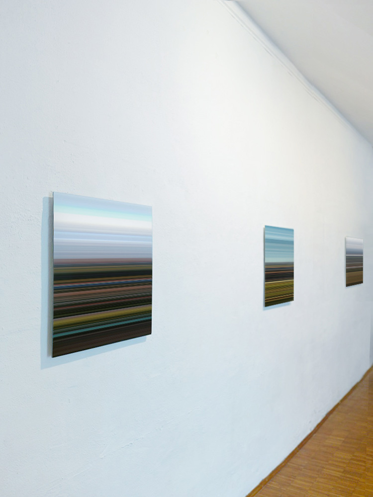 Installation View:  Künstlerbund Speyer e.V.  Elias Wessel: Landscapes , 2015 © Elias Wessel