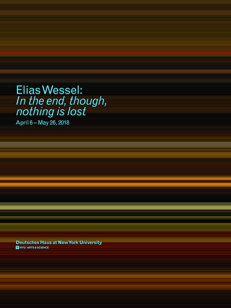 © Elias Wessel, 2018 / Poster: CPE Studio