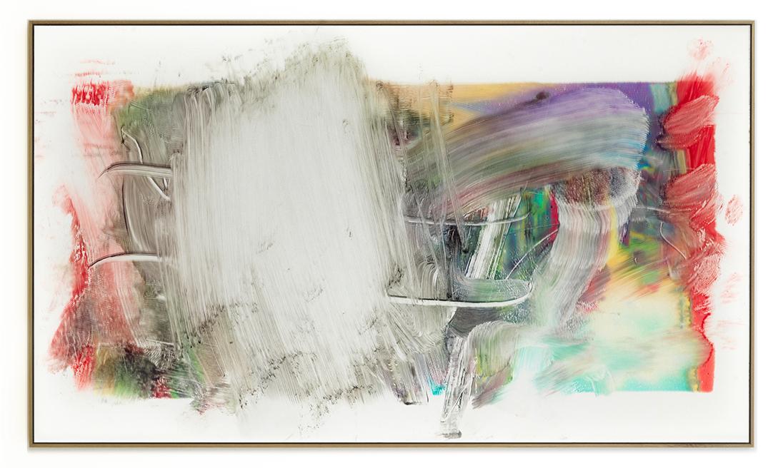 Elias Wessel Die  Freude am Rest – Zur Entmaterialisierung der Bilder, No. 3 , 2018 Photowork Original: 161 x 275,5 cm