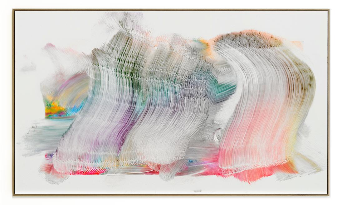 Elias Wessel Die  Freude am Rest – Zur Entmaterialisierung der Bilder, No. 4 , 2018 Photowork Original: 161 x 275,5 cm