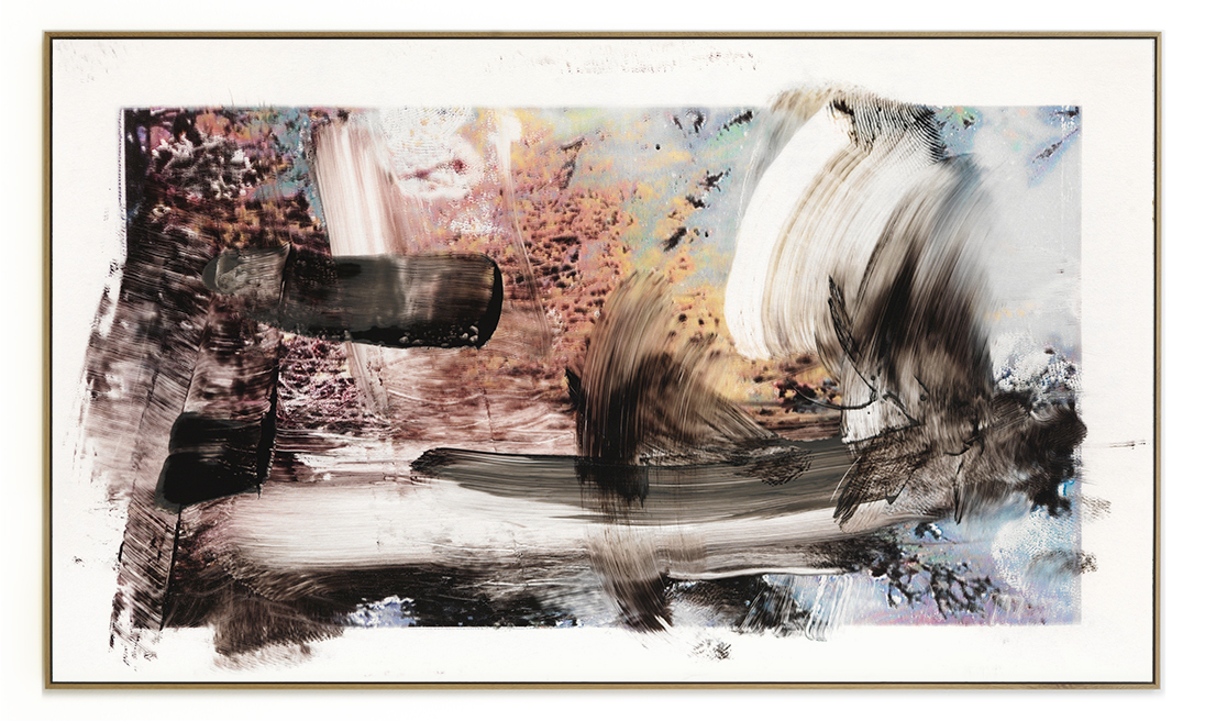 Elias Wessel Die  Freude am Rest – Zur Entmaterialisierung der Bilder, No. 8 , 2018 Photowork Original: 161 x 275,5 cm