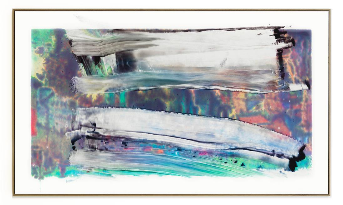 Elias Wessel Die  Freude am Rest – Zur Entmaterialisierung der Bilder, No. 11 , 2018 Photowork Original: 161 x 275,5 cm