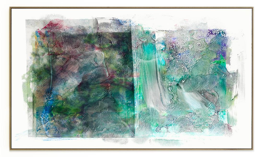 Elias Wessel Die  Freude am Rest – Zur Entmaterialisierung der Bilder, No. 14 , 2018 Photowork Original: 161 x 275,5 cm