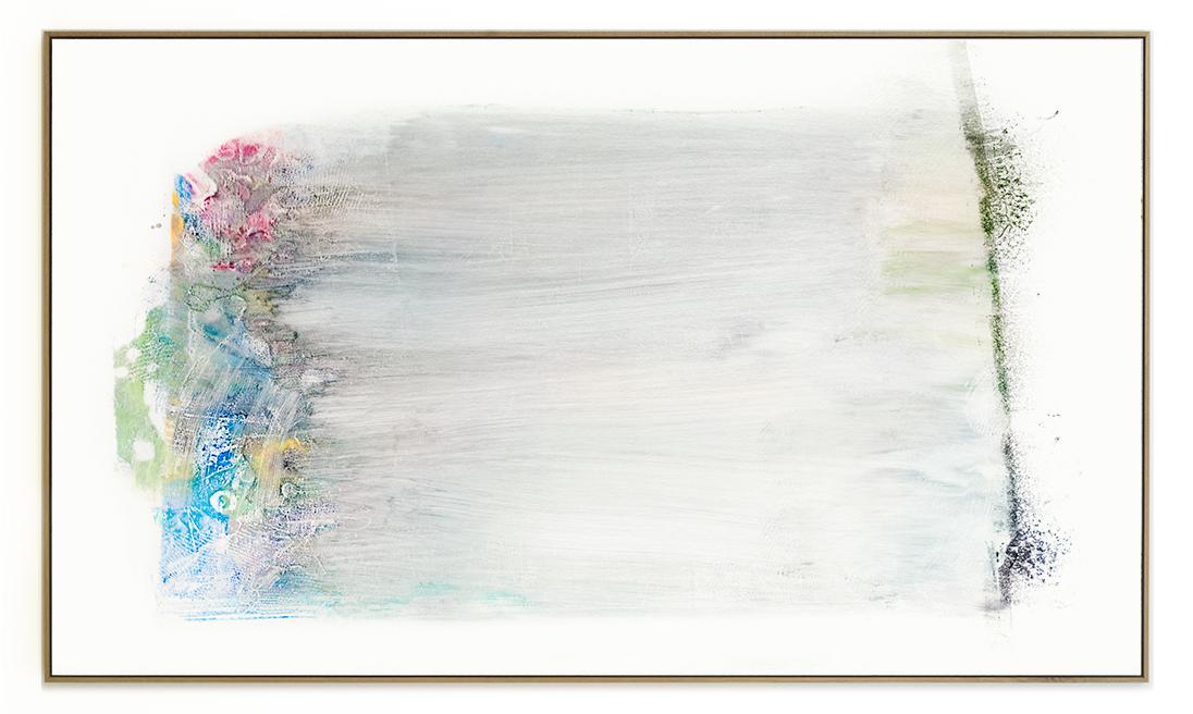 Elias Wessel Die  Freude am Rest – Zur Entmaterialisierung der Bilder, No. 15 , 2018 Photowork Original: 161 x 275,5 cm
