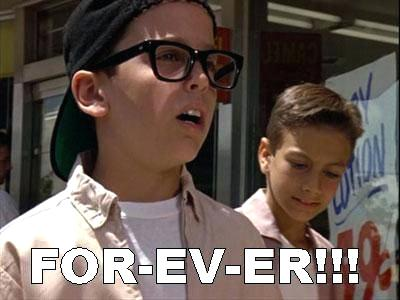 Greatest movie of all time, the Sandlot.