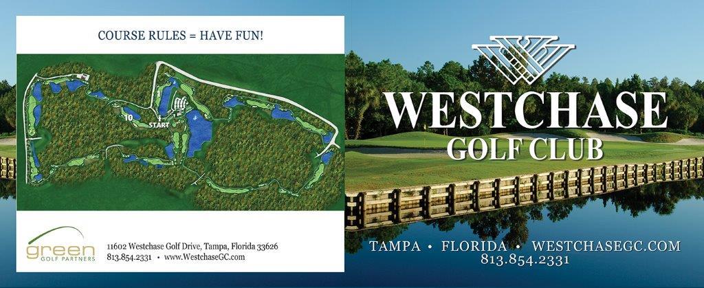 Westchase Golf Club - Scorecard