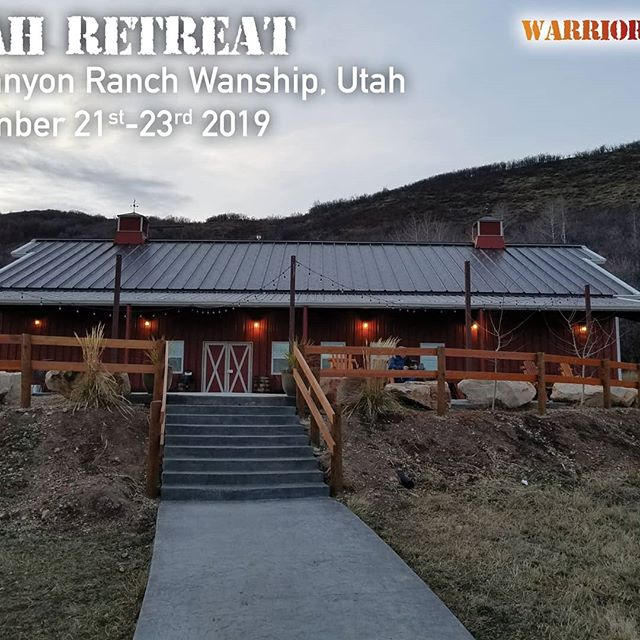 The good news is that we are doing a bootcamp in November at Big Canyon if you can't make it to Alaska. Also, invite all friends and family that need to learn how to be Wild at Heart!