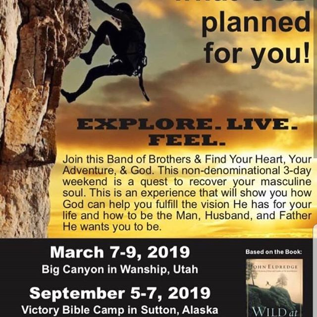 Come join us at bootcamp March 7 - 9 at Big Canyon.