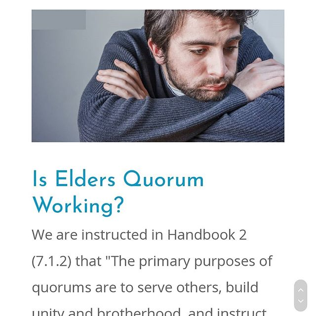 Great podcast about Elders Quorum and being Wild at Heart. Bootcamp is discussed. Check it out! https://leadingsaints.org/is-elders-quorum-working/