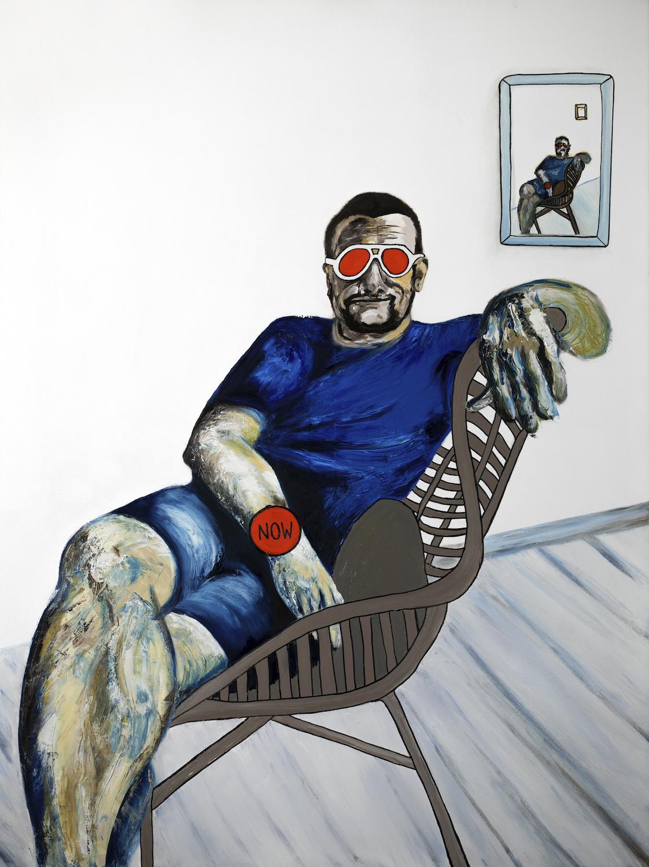 semi-finalist in the lester prize 2019 - 'Mr Live Life Now'Oil on Canvas91 x 122cmENQUIRE