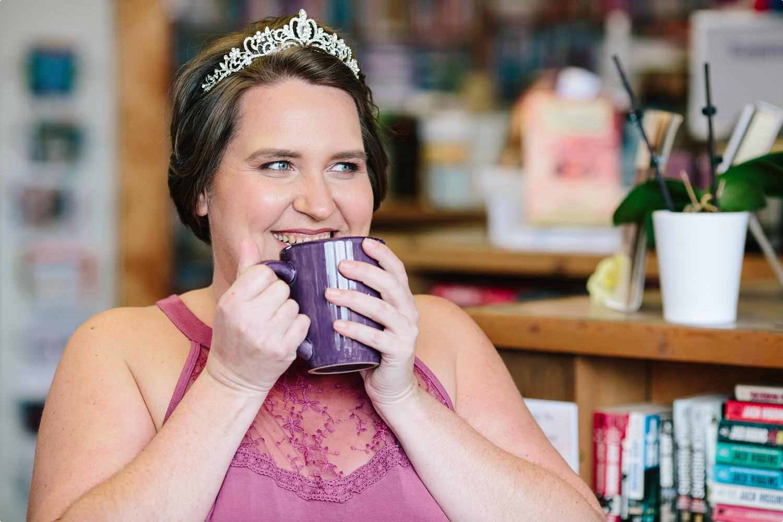 Lori's Happy Place - coffee, books, and a tiara