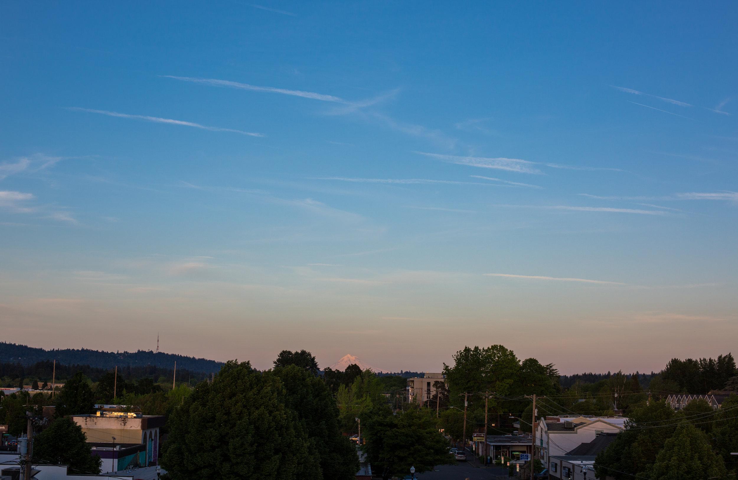 Beaverton at Sunset