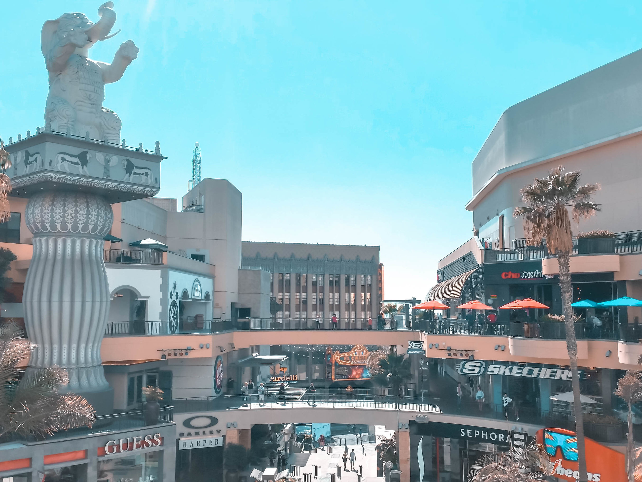 Exploring Hollywood and Highland Shopping Centre