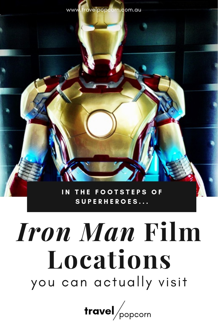 Visit the places where the MCU began with our list of film locations from  Iron Man  you can actually visit. Make the MCU come to life and relive your favourite  Iron Man  moments at these film locations around southern California and Nevada. The perfect travel itinerary for any Marvel, Iron Man and Avengers fan! #ironman #avengers #marvel #mcu #tonystark #nerdtravel #movietourism