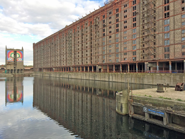 Stanley Dock, Liverpool. Image credit:   Diamond Geezer  , Flickr.com - used under Creative Commons