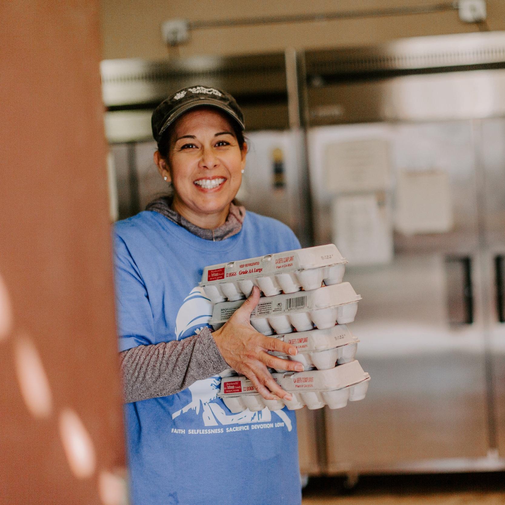 FOOD BANK - Volunteer