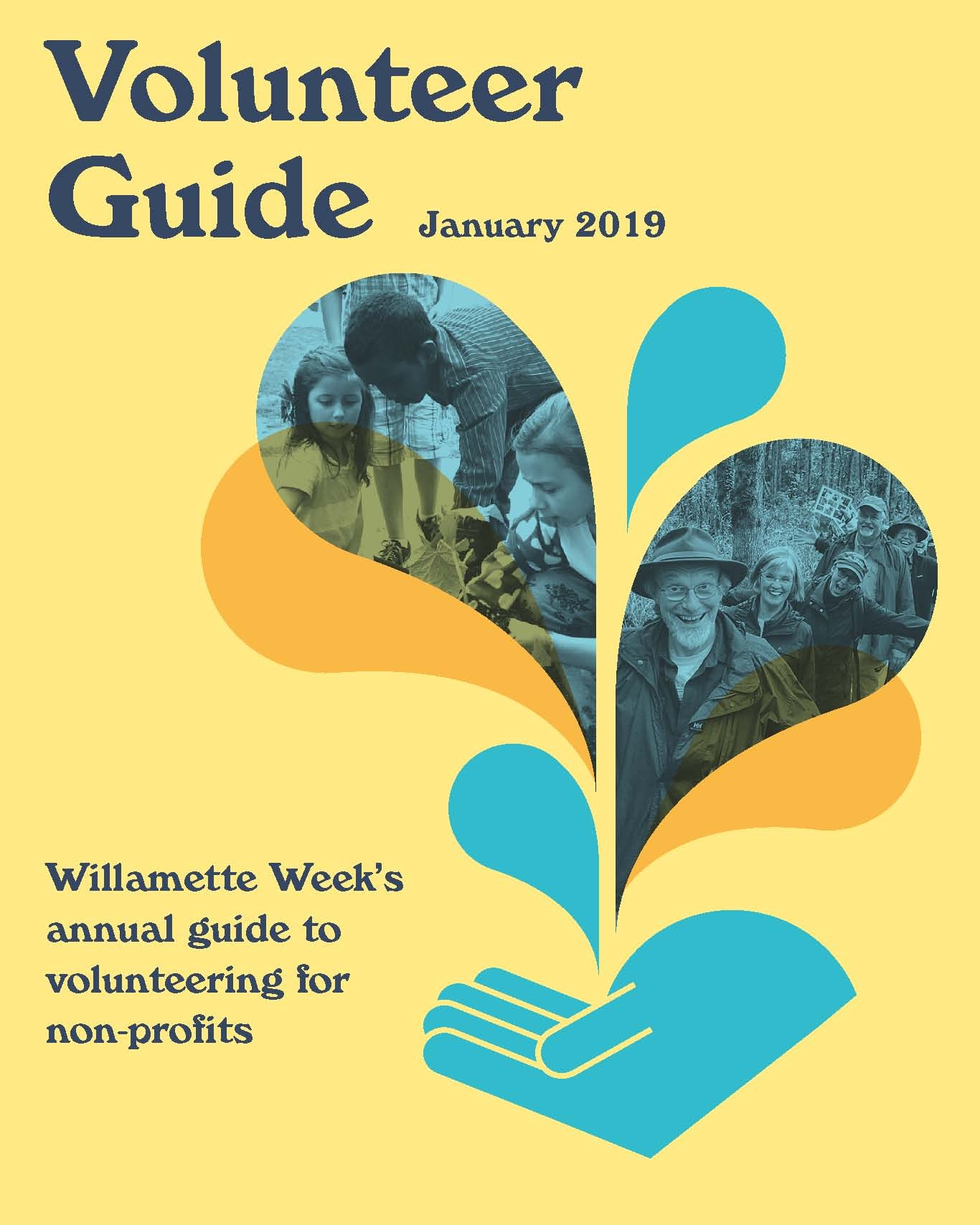 VOLUNTEER GUIDE - Our annual call to readers to help worthy nonprofits in their mission to make Portland a city that works for everyone.