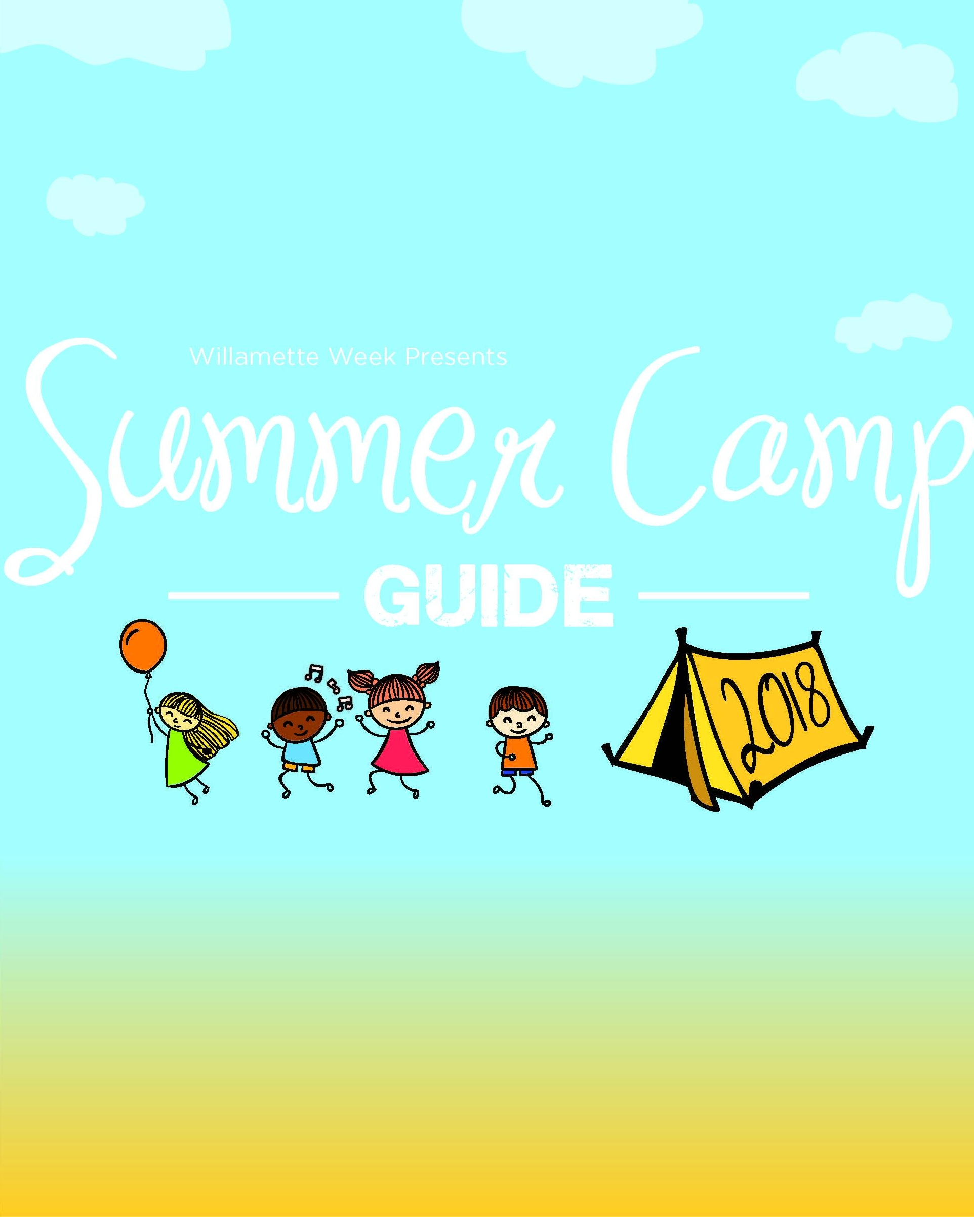 SUMMER CAMP GUIDE - A resource for Portland parents who are deciding where to send their children for summer activities.