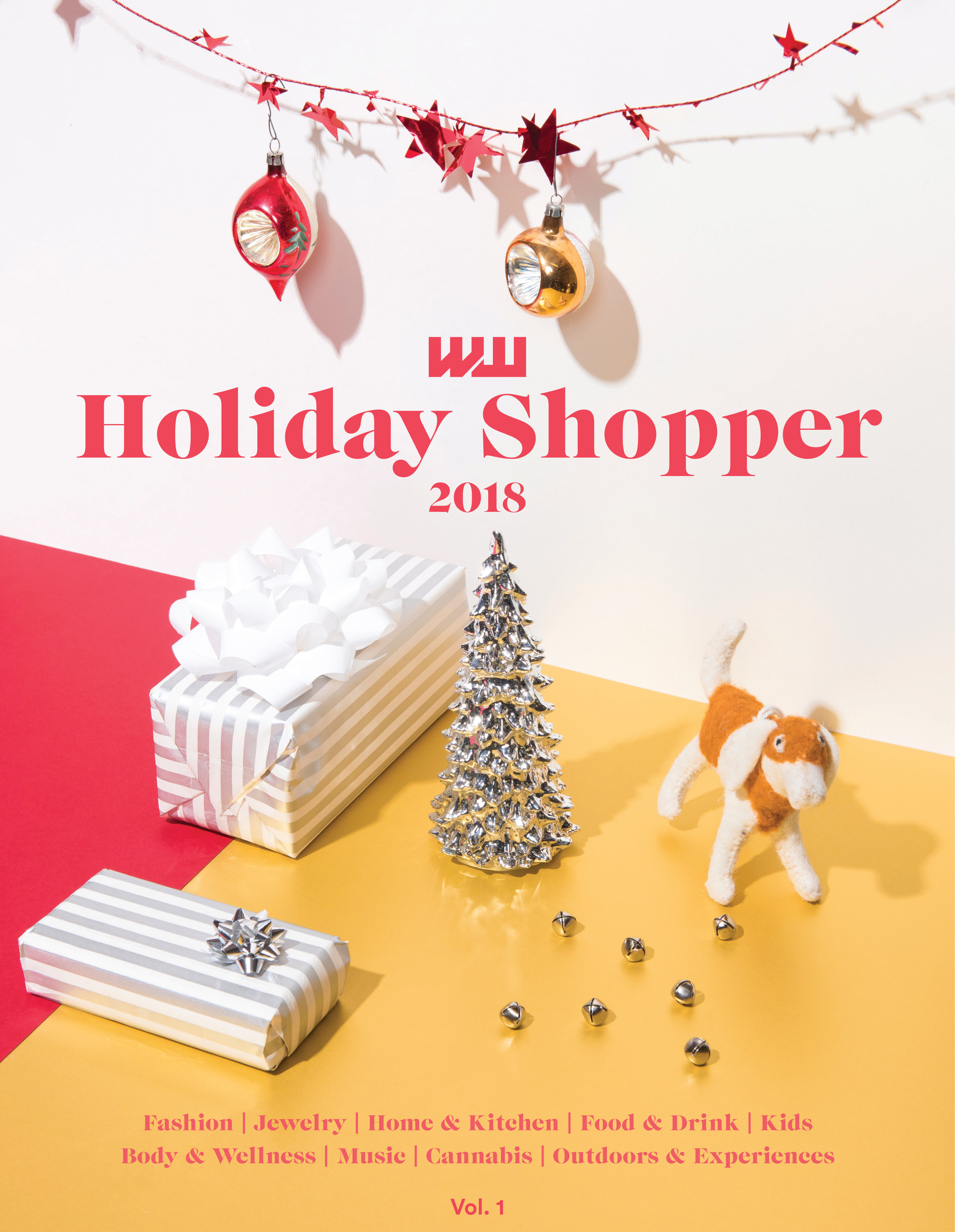 HOLIDAY SHOPPER #1 - Product-based gift pages across a wide range of consumer categories, our annual shoppers are some of our most used issues of the year.