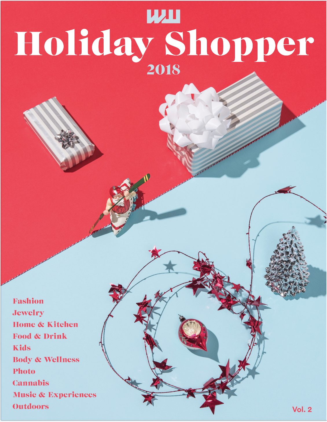 HOLIDAY SHOPPER #2 - Product-based gift pages across a wide range of consumer categories, our annual shoppers are some of our most used issues of the year.