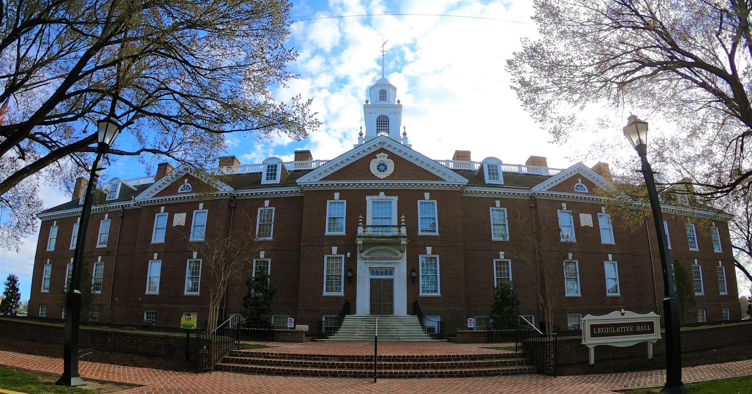 Legislative Hall: The State Capitol of Delaware in Dover