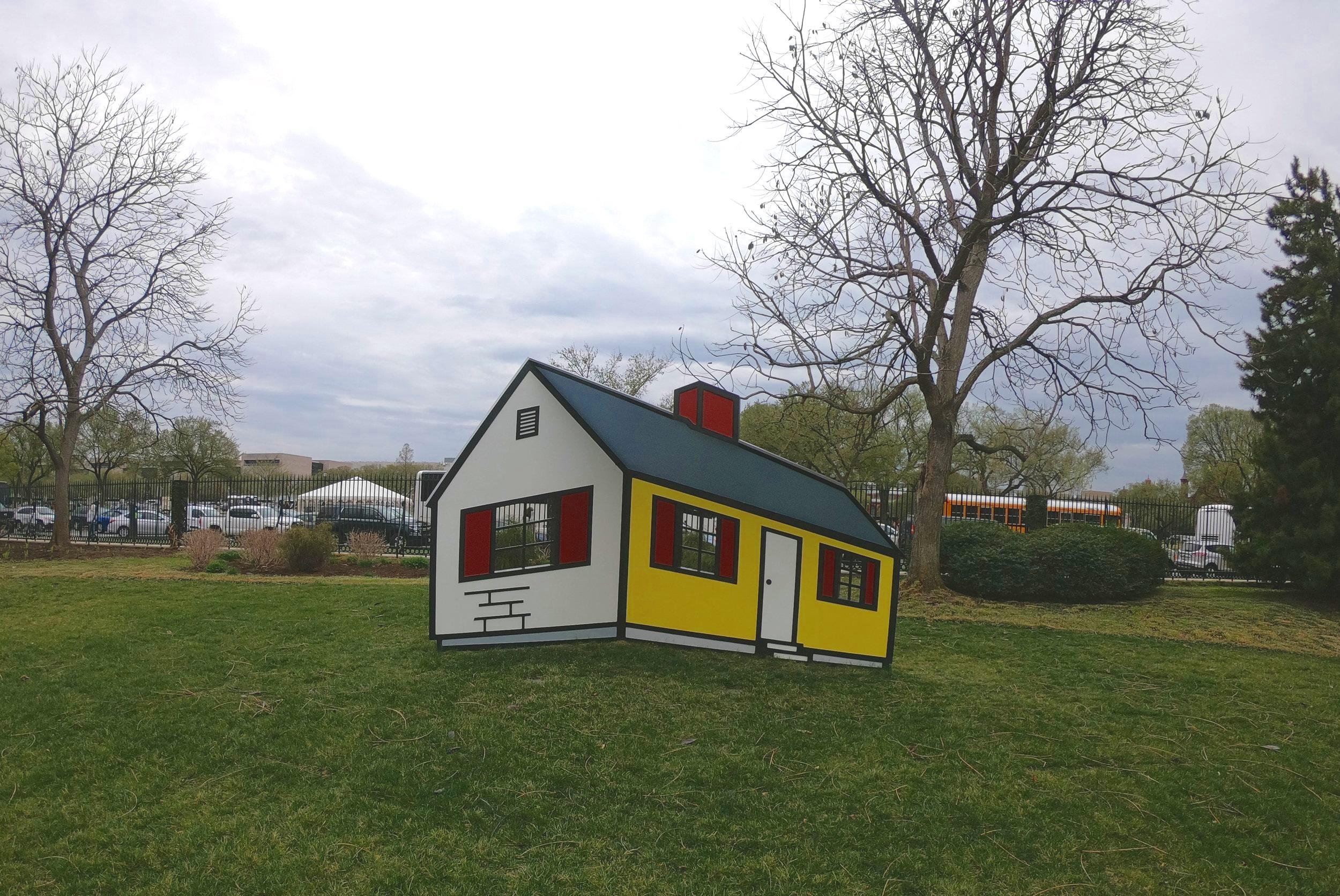 House I by Roy Lichtenstein