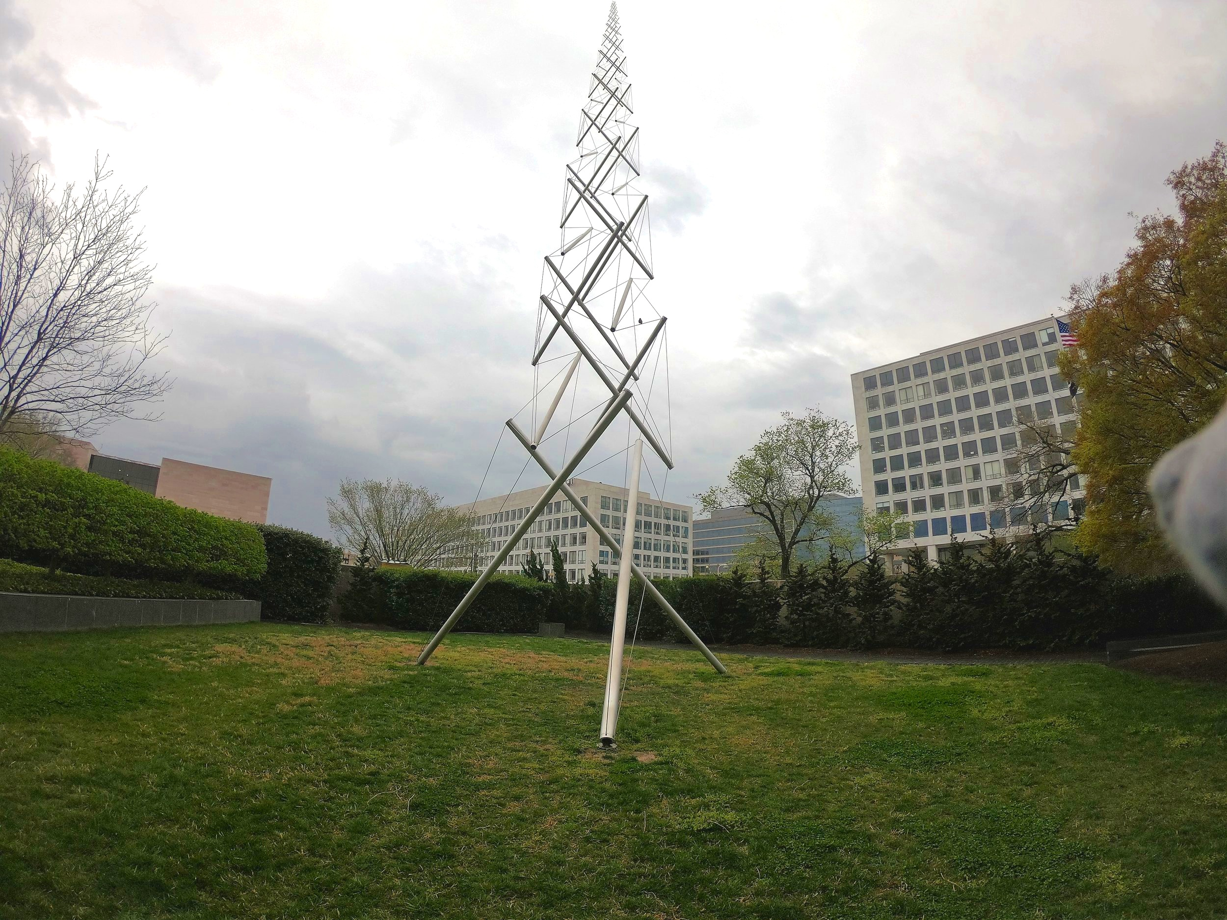 Needle Tower by Kenneth Snelson