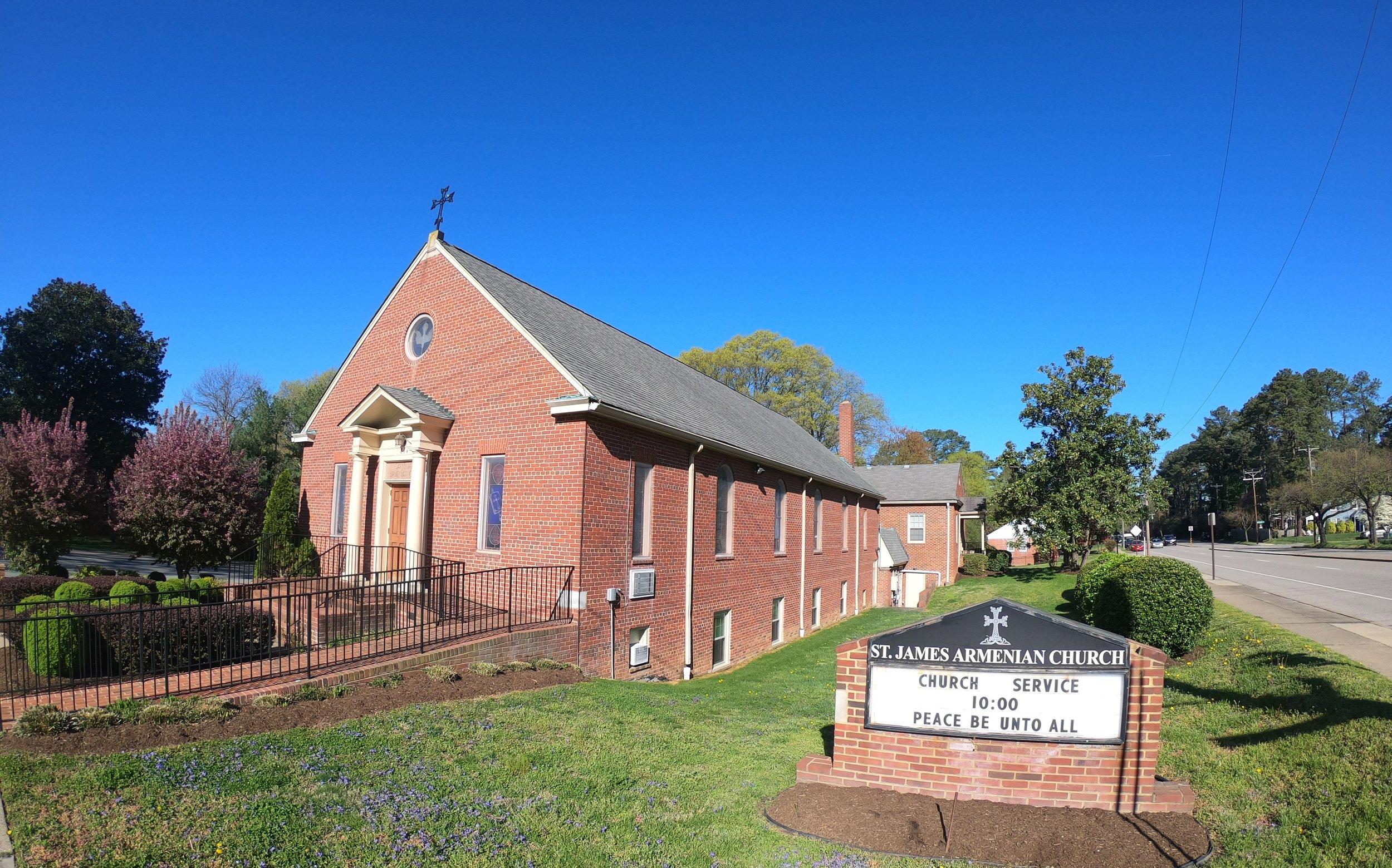 St. James Armenian Church in Richmond, VA
