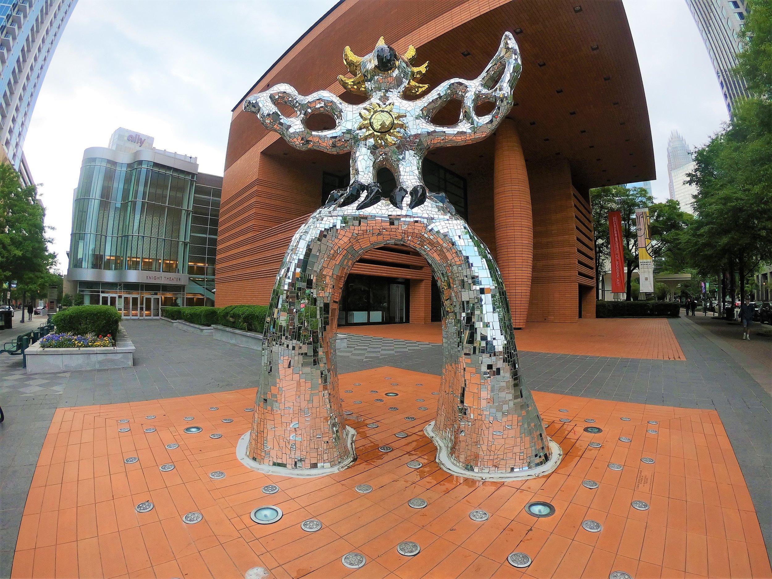 Firebird Statue by Niki de Saint Phalle